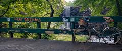 Meat Dreams... (koperajoe) Tags: velo 650b amherstma graffiti dam stone waterfall longexposure