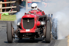 The usual smoke (DABgp) Tags: chriswiliams vscc prescott bentley napier bentleynapier climatelaxative