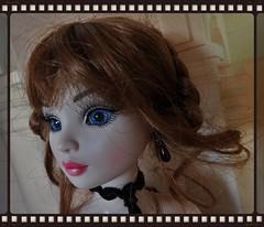 Ellowyne : vieille dentelle et perles de jais (Le petit atelier de Valentine) Tags: ellowyne wilde wildeimagination doll poupe amricaine dentelle jais soire bal robert tonner bijoux amrican dress