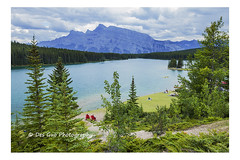 Two Jack Lake and Mt Rundle, Banff National Park (PhotoDG) Tags: twojacklake banffnationalpark baff nationalpark landscape minnewankaloop canadianrockies rockymountains icefieldparkway mtrundle