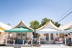 (gwoolston) Tags: tents summer seashore landscape porch shore jerseyshore oceangrove