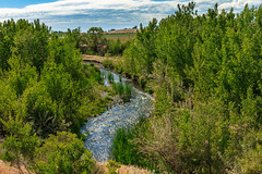 Meander Stream (http://fineartamerica.com/profiles/robert-bales.ht) Tags: forupload haybales idaho misc people photo places projects river scenic southern states meander stream water landscape natural curve nobody nature view sunny blue green bend forest valley tree fluvial winding sky colorful outdoor oxbow cloud grass hill extremadura season creek channel environment greenery zigzag watercourse meandering brook caceres scenery scene summer aerial peaceful moor outdoors marsh oregon