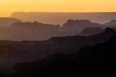 Grand Canyon Silhouette (jackchalat) Tags: sunset arizona silhouette grandcanyon grand canyon