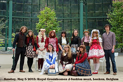 Group shot (House Of Secrets Incorporated) Tags: fashion meetup belgium belgië lolita casual egl groupshot steampunk laeken jfashion sweetlolita babythestarsshinebright otome innocentworld classiclolita casualfashion royalgreenhouses dollykei otomekei jfashionmeet