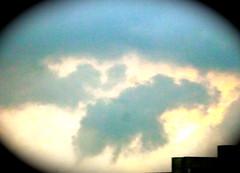 Wolkenexperiment (radochla.wolfgang) Tags: wolke gropiusstadt