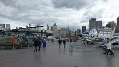 USS Intrepid (skumroffe) Tags: nyc newyorkcity usa newyork museum airplane unitedstates manhattan aircraft intrepid hudsonriver hudson aircraftcarrier ussintrepid intrepidseaairspacemuseum hangarfartyg