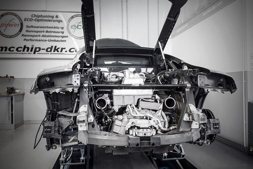 Audi R8 by Mcchip-DKR