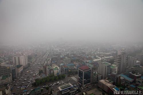 Smog nad Incheon
