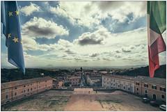Caprarola (Mikeluk) Tags: panorama roma italia nuvole vista palazzo viterbo farnese caprarola