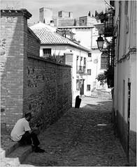 Dans l'Albayzin, Granada, Andalucia, Espana (claude lina) Tags: claudelina espana spain espagne andalucia andalousie granada grenade ville town alhambra albayzin