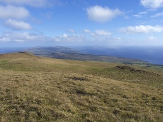 Vue de la Maunga Terevaka, 507 m d'altitude