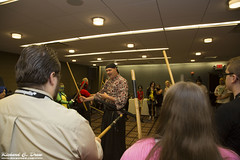 Anime Midwest 2016 Cosplay - Panels (RickDrew) Tags: anime midwest 2016 chicago il illinois rosemont panel event presentation fun animation group samurai dan