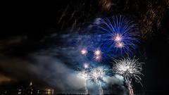 Fireworks @ Gruissan (Tiomax80) Tags: fireworks feu dartifice feudartifice gruissan gruissanot gruissanais bleublancrouge tour barberousse villageencirculade tang 14juillet france french bleu blanc rouge fr nikkor nikon tiomax tiomax80 franais 20mm celebration tribute night nocturnal longexposure feudartifices d610 max cat maxcat aude 11 bastilleday
