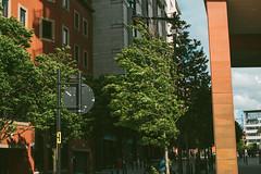 Street (JacksonSwaby) Tags: street city building buildings tree sky structure sign window windows light lamp people car