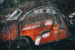 rusted wreck (Jude Marion) Tags: ontario canada car oldcars wrecks rockwood oldwrecks mcleansautowreckers
