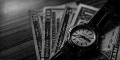 Time & Money (Ruvinda_S) Tags: nikon money time watch dollar