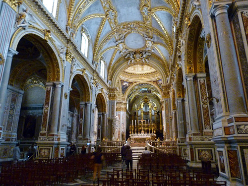 Monte Cassino - the abbey church