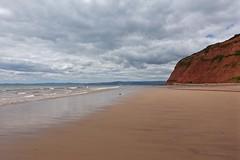 Beach (Nige H (Thanks for 6m views)) Tags: nature landscape beach sea cliffs sky cloud devon england summer sandybay exmouth