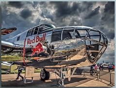 "NORTH AMERICAN B-25J ""MITCHELL"" Reg. N6123C - The Flying Bulls (Peterspixel from Peter Althoff) Tags: theflyingbulls n6123c northamericanb25jmitchellnorth americanb25ilaila berlin air show 2016ila 2016airplaneairportaircraftairlinesboeingflugzeugflughafen brandenburg ber deutschland germany hdr boeing"