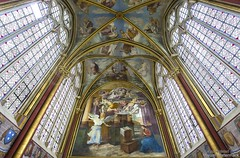 20160725_chaalis_abbey_primatice_chapel_9999u (isogood) Tags: chaalis chapel primatice frescoes stainedglass renaissance barroco france church religion christian gothic cathedral light abbey