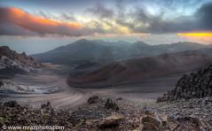 hawaii-13 (mrazphoto) Tags: sunrise landscape volcano hawaii maui haleakala crater hdr