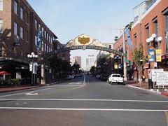 Gaslamp Quarter Historic District (procrast8) Tags: california ca san downtown diego gaslamp quarter avenue fifth