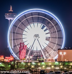 Niagara SkyWheel #nikon #niagarafalls #ontario #canada #ferriswheel #nightphotography #longexposure #funtown #placestovisit #travel #tourism #nikond750 (Dabitz.com) Tags: longexposure nightphotography travel ontario canada tourism mystery niagarafalls nikon cityscape bowl maze ferriswheel funtown placestovisit nikond750