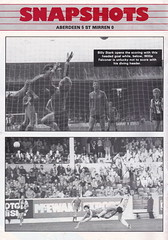 Aberdeen vs St Johnstone - 1983 - Page 2 (The Sky Strikers) Tags: road cup st magazine official scottish aberdeen don to hampden league johnstone the matchday pittodrie 40p