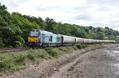 River Cats (Teignstu) Tags: teignmouth devon railway riverteign railtour drs directrailservices class68 68017 68008 northernbelle