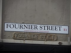 Fournier Street (Avvie_) Tags: london whitechapel aldgate spitalfields christ church market fournier street ten bells pub jack ripper 1888 dorset mary kelly whites row crispin