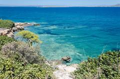 The coast of Agistri (mAlexandros) Tags: agistri geo grecia mare panorami nikon greece athens attiki attica beautiful best ellade ellada ellas