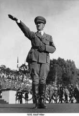 Adolf Hitler in 1935 (1) (ngao5) Tags: 1andcrowd 1andgroup adolfhitler austrians europeans germans males people whites