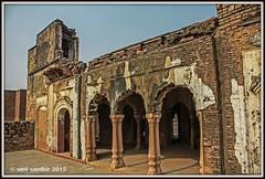 ZAFAR MAHAL RUINS, MEHRAULI (Smit Sandhir) Tags: zafar mahal ruins canon eos 450d delhi history historical mosque last mughal bahadur shah mehrauli dome photography india dslr dynasty