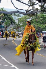 Oah'u Pa'u Pricess (BarryFackler) Tags: trees horses people horse woman holiday tree church yellow palms hawaii polynesia princess outdoor parade celebration palmtrees event riding lamppost hawaiian bigisland procession rider pau equestrian kona equine bridle banyantree polynesian kailuakona wahine 2016 reins domesticanimal stirrups hawaiicounty horsewoman mokuaikauachurch pauskirt aliidrive hawaiiisland hawaiianculture paurider hawaiianholiday westhawaii northkona hawaiiantradition kingkamehamehadayparade barryfackler barronfackler pauprincess pauprincessofoahu leihaka escortriders 100thannualkingkamehamehadayparade princesskuuleimomikahele kuuleimomikahele oahupauprincess
