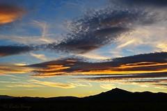 Coucher de soleil sur Fora Ral (sergecos) Tags: coucherdesoleil sunset ciel sky nuages clouds silhouette pyrnesorientales nature extrieur ourdoor landscape