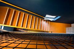 the window below (keith midson) Tags: stairs stairwell staircase steps utas universityoftasmania window