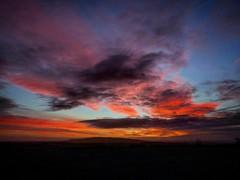 Red Sky at Dusk (jwhiteireland) Tags: dusk redsky