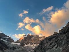 Les crins () Tags: lescrins labrarde alpinisme montagne promontoire refuge sunset clouds nuages randonne hiking bivouac isre