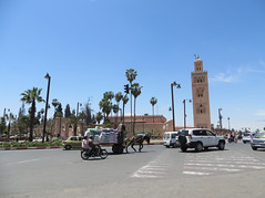 Marrakesh Koutoubia_9983B (JespervdBerg) Tags: holiday spring 2016 africa northafrican tamazight amazigh arab arabic moroccanstyle moroccan morocco maroc marocain marokkaans marokko marrakech marrakesh koutoubia