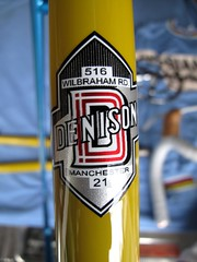 Denison Frame (20) (moonm) Tags: bikes uk 531 classic cycling frame lugs steel vintage