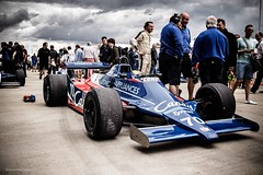 Tyrrell 010 (Instagram: @brianwalshphotos) Tags: 2016 july motorsport silverstone silverstoneclassic tyrrell 010 masters historic fia formulaone f1 formula1 candy retro deman blue canon worldcars