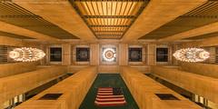 Grand Central Fisheye (DSC04969) (Michael.Lee.Pics.NYC) Tags: newyork grandcentralterminal architecture fisheye symmetry sony a7rm2 rokinon12mm28fisheye