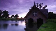 The boathouse (Leo Bissett) Tags: lake boat house tree sky dusk old building cartonhouse kildare ireland long exposure nature sunset