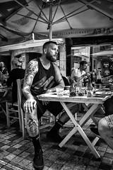 Thessaloniki, street photography (Andreas Mamoukas) Tags: thessaloniki macedonia greece tattoos
