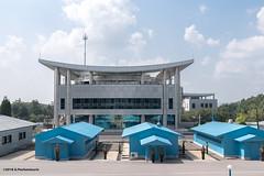 Joint Security Area, Demilitarized zone, Korea (George Pachantouris) Tags: dprk north korea pyongyang kim ilsung jongil jongun communism socialism