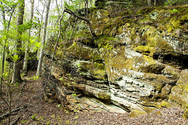Totem Rock - Patoka Hiking Area - April 24, 2015