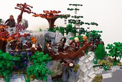 detail_05 (Mark van der Maarel) Tags: castle waterfall lego fantasy dio diorama moc afol