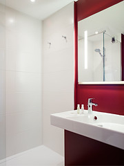 Bathroom, Hotel Median Paris Congrs (Median Hotels) Tags: voyage travel 3 paris france bathroom hotel rooms twin double business palais porte leisure triple loisirs median douche maillot congres chambres 3star affaires spacieux rnove