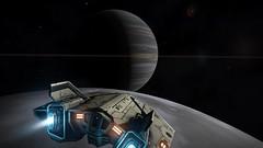 Over the moon (CMDR Pete) Tags: game screenshot dangerous space elite scifi 12 sim elitedangerous