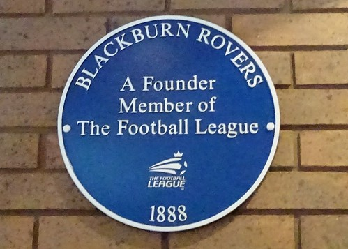 Blackburn Rovers, Founder of the Football League, Blue Plaque